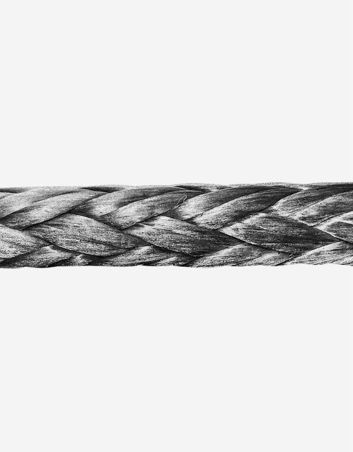 high strength rope grey image