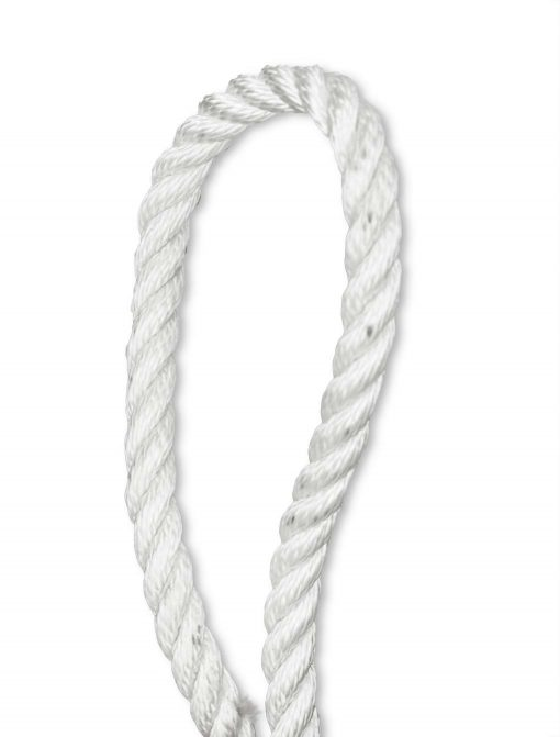 3 strand poly white image